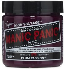Manic Panic Semi-Permament Haircolor, Plum Passion 4 oz (Pack of 2)