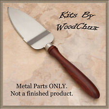 Pie Knife Server Kit Stainless Steel Woodturning Lathe Project Fast Shipping
