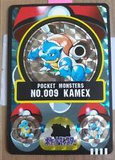 POKEMON 1998 JAPANESE POCKET MONSTERS BANDAI - BLASTOISE KAMEX - MINT FRESH