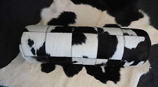 MADE FROM BRAZILIAN COWHIDE  - A BEAUTIFUL THERAPEUTIC GRADE BOLSTER CUSHION -