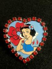 18729Uk Disney Store Jeweled Heart Snow White htf 2003 G59