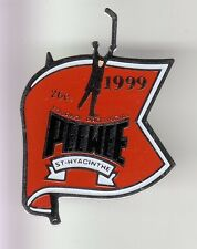 RARE PINS PIN'S .. SPORT HIVER ICE HOCKEY SUR GLACE PEE WEE QUEBEC CANADA ~DE