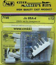 CMK 1/72 JUNKERS Ju88A-4 Set Interni Per Hasegawa # 7146