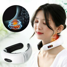 Electric Pulse Neck Massager Magnetic Therapy Vertebra Treatment PAIN RELIEF US