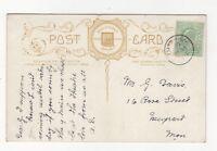 Tutshill Gloucestershire 31 May 1908 Single Ring Postmark 861b