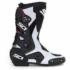 Stivali bianchi per motociclista uomo , Numero 42