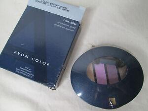 NOS Avon True Color Eyshadow Quad - Lilac Dream Full Sz .2oz  New Compact
