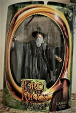 Lord of the Rings Gandalf with Light-Up Action Staff Toy Biz 81022 2001 Nib