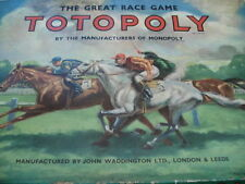 Totopoly Plastic Vintage Board & Traditional Games