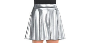 Flare Womens Adult Black Short Skater Style Skirt-BLK