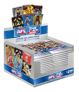 2021 AFL TeamCoach Footy Trading Card Box 36(sealed) free Postage