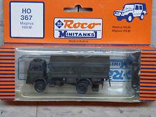 Roco / Herpa Minitanks (NEW) West German Magirus 168M Troop Truck Lot 1463