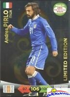2014 Panini Adrenalyn World Cup EXCLUSIVE Andrea Pirlo Limited Edition MINT