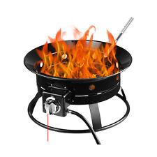 New listing Firebowl Outdoor Portable Propane Gas Fire Pit Bowl 19-Inch Diameter 52,000 Btu