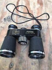 Vintage focal Binoculars 4x30 Black Coated optics Lent Kmart