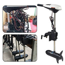 65LB Electric Trolling Motor Outboard Engine Inflatable Fishing Boat 12V Outdoor