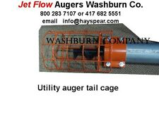 "Tail Cage For Utility Auger 4"" Diameter Jet Flow"