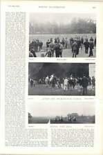 1896 Horse Race Sandown Park Dynamo Buxom Lass