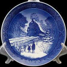 1973 Royal Copenhagen Christmas Plate Going Home For Christmas