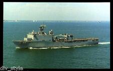 Uss Gunston Hall Lsd-44 postcard Us Navy landing ship dock (cd2)