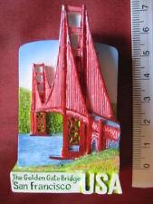 Golden Gate Bridge San Francisco USA America Refrigerator 3D Fridge Magnet