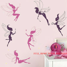 VINYL Fairy and Magic Wand Wall Stickers Girls Kids Room Car Decal-Top Quality