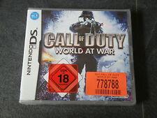 DS Spiel Call of Duty - World of War