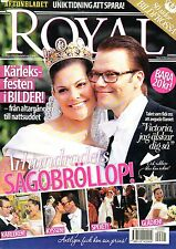 Royal Prinzessin Victoria Daniel Hochzeit Wedding Bröllop, Schweden