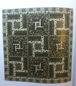 "Metro Maze Quilt Fabric Kit  using Marcus Metro Mirage 66"" x 66"""