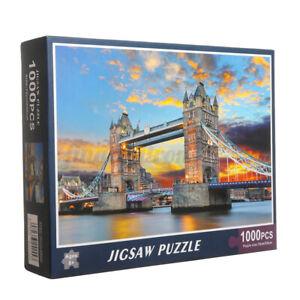 Jigsaw Puzzles for Adults 1000Pcs Paris Town Europe Rainy Street Landscape