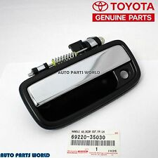GENUINE TOYOTA 95-04 TACOMA CHROME FRONT DRIVER DOOR OUTSIDE HANDLE 69220-35030