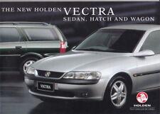1998 HOLDEN VECTRA B SEDAN HATCH & WAGON Australian Brochure Like OPEL VAUXHALL
