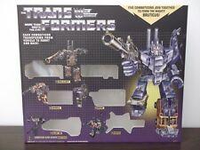 Transformers G1 Bruticus  Box and Styrofoam Custom
