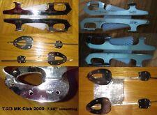 "Ice Skates blades only 7-2/3 Mk Club 2000 - 7-2/3"" mounting"