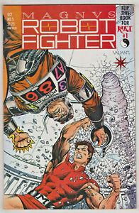 MAGNUS ROBOT FIGHTER#5 VF/NM 1991 VALIANT COMICS