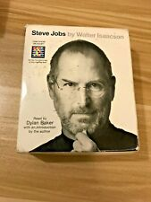 """""""Steve Jobs"""", by Walter Isaacson; Unabridged biography; 19 CDs; 24 hours runtime"""