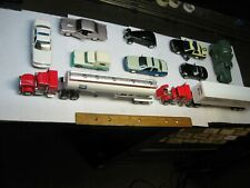 """Lionel & other """"O"""" gauge vehicles: mostly high quality. Set of 10. (Lot # 98)"""