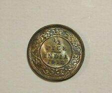 India 1912 1/2 Pice unc Coin