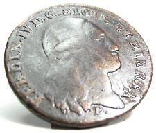 NAPOLI (Ferdinando IV di Borbone) 8 Tornesi 1797
