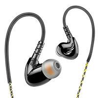 Sports Headphone Waterproof Earphone HIFI Bass Stereo Headset Earbuds With Mic