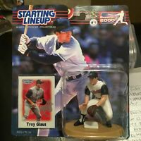 F50 2000 TROY GLAUS ANGELS Starting Line Up NIB FREE SHIPPING