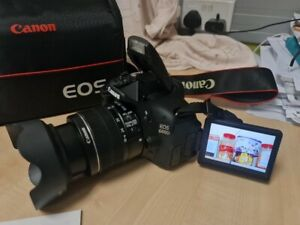 Canon DSLR Camera With 18-55mm Lens With Selfie Screen