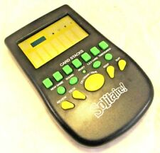 Pocket Solitaire Handheld Electronic Game - Black