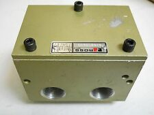 "ROSS  2768C5900 PNEUMATIC VALVE 3/4"" NPT PORTS 2-10 BAR NEW CONDITION NO BOX"