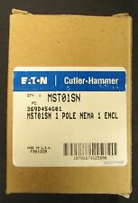 Eaton Cutler Hammer MST01SN Single Pole Nema 1 Manual Starter 369D454G01