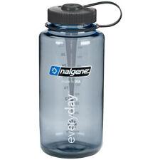 Nalgene Tritan Wide Mouth Water Bottle - 32 oz. - Gray/Black