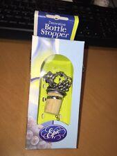 New listing Pewter Grapevine Wine Stopper Epic Oil Vinegar Stopper New Nib
