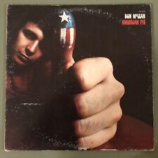 "DON MCLEAN ""AMERICAN PIE"" VINYL MUSIC RECORD LP - UNITED ARTISTS - 1971 VINTAGE"