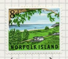 Norfolk Island 1964 Early Issue Fine Mint Hinged 8d. 096326