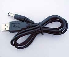 Cable Adaptateur USB alimentation DC 5V - 5,5x2,1mm - USB Adapter to 5V DC power